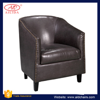 AC-159 leather tub chair air sofa chair inflatable sofa chair