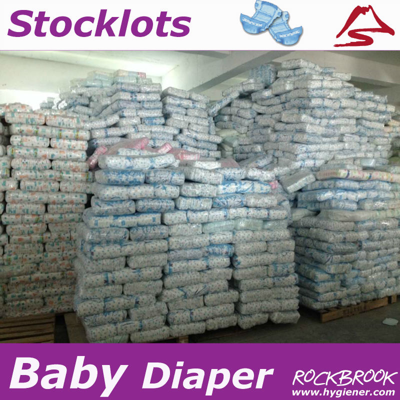 Good Quality Large Quantity Cheapest Disposable Baby Diaper in Bale in Uk Supplier from China