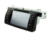 Auto gps with radio for bmw e46/for bmw e46 car monitor/in-dash car gps for bmw e46
