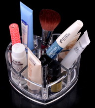 high clear good quality OEM acrylic/PMMA makeup storage