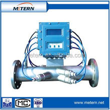 Ultrasonic flow meter for natural gas