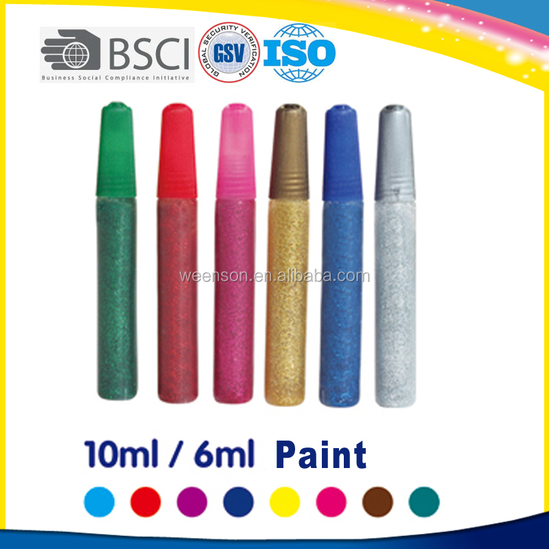 Popular acrylic leather paint for student 10ml