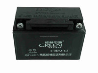 Green brand factory price motorcycle battery 12v