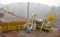 Shandong 30--40t/h asphalt mixing plant QLB-30 Full Automatic Mobile Interval Asphalt Mixture Equipment with CE