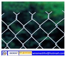 ISO 9001 High Quality Galvanized Chain Link Fence Price