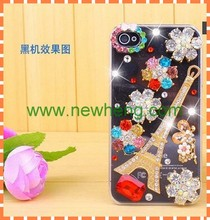 Hot sale 3D diamond bling hard pc case for iphone5s