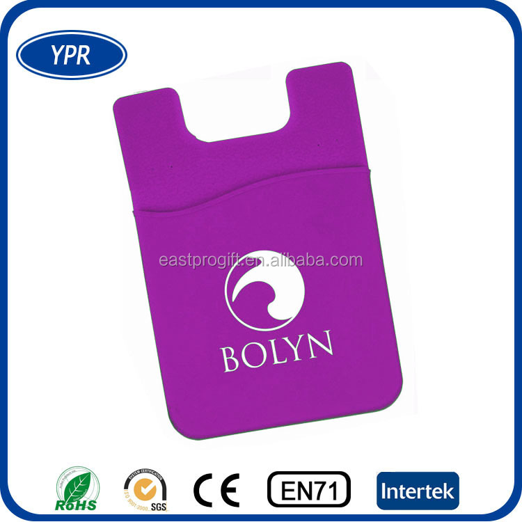 bulk promotional items 3m sticky silicone adhesive smart wallet phone