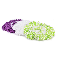 Universal 360 Spin Replacement Microfiber Magic Mop Head