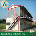china prefabricated luxury house steel frame house