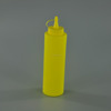 Hot sell plastic ketchup bottle or Sauce cruet with pipefish bottle