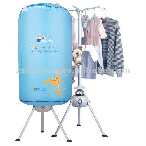 Portable folding Clothes dryers Round design TUV certificate approval