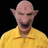 Evil Goblin Mask Rubber Latex Halloween Party Mask Men Mask China Wholesale