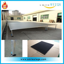 cheap Newly Gold aluminum plywood platform decent concert mobile stage for sale