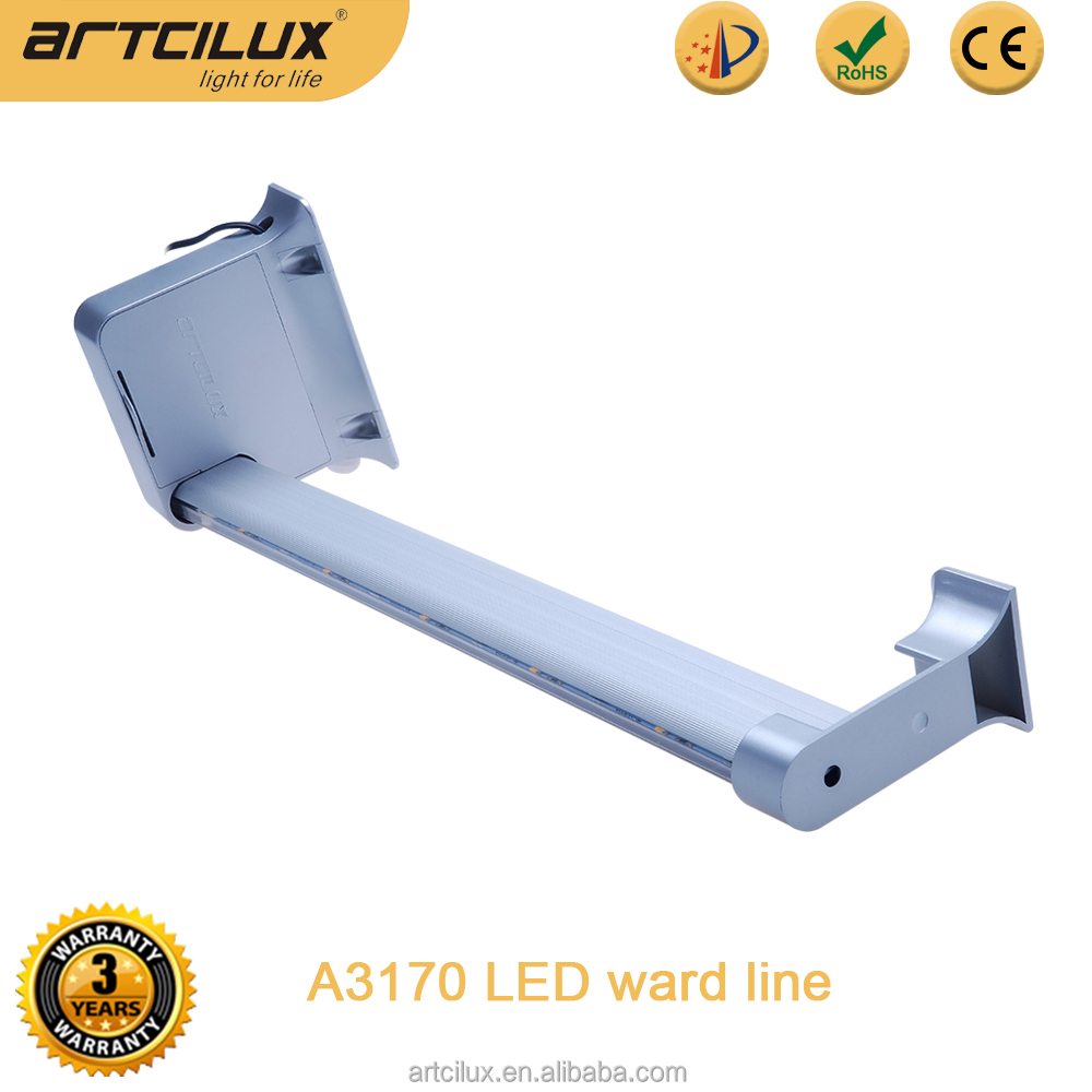 Promotional Aluminium battery operated Surfaced Motion sensor led wardrobe rail