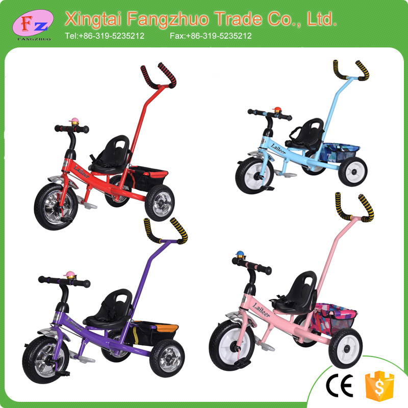 China factory wholesale baby stroller cheap kids tricycle bring umbrella