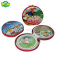 Factory Supplier Creative Tin CD Case for sale With Zipper cd case