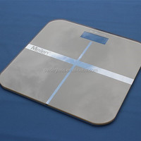 Customized weight scale paint tempered glass