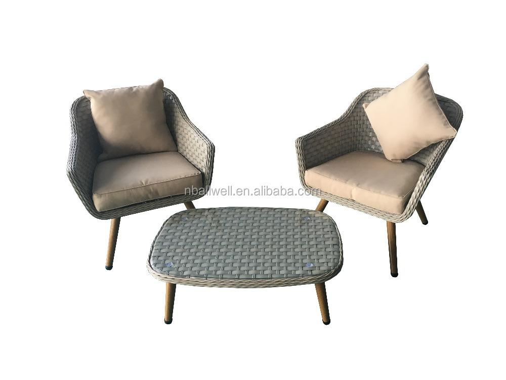 Kunststoff Rattan Gartenmobel Set ~ Inspiration über Haus Design