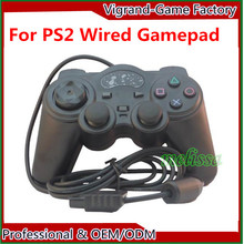 Wired Controller For PS2 Dual Vibration Joystick Gamepad Joypad For PS2 Playstation 2
