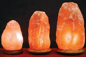 Natural Rock Salt Lamp(Handcrafted)