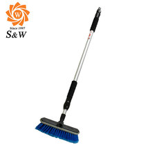 Automatic Microfiber Soft Bristle Car Wash Brush with Long Handle, Car Cleaning Brush