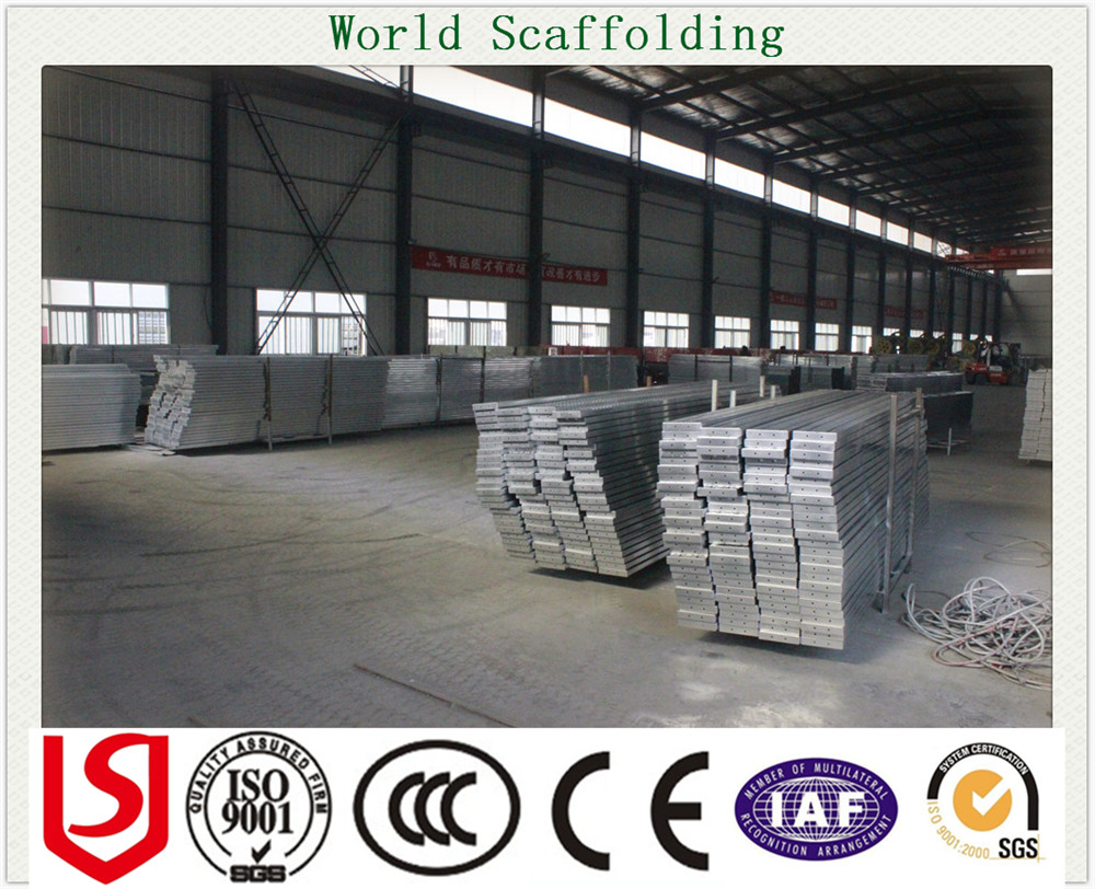 Building Suspended Access Scaffolding Metal Plank /Metal Deck