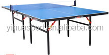 logo printed cheap intdoor table tennis table