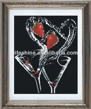 diamond picture with high quality material made for walls hanging