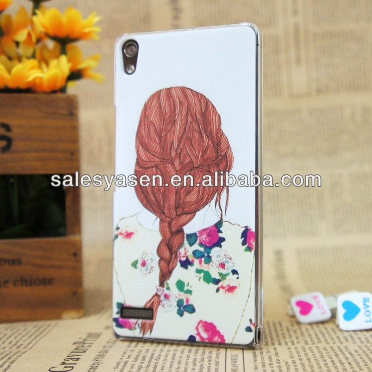 For huawei ascend P6 customized case with your design(manufacturer)