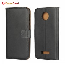 Mobile Phone Cases Capa Funda Coque Stand Wallet Genuine Leather Case Flip Cover for Moto M X2 X Force X Style Z Play