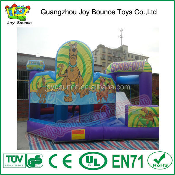 cartoon jumping bouncer castle,animal kids mini inflatable jumper,scooby doo used commercial inflatable bouncers