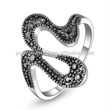 R533 Hot sale special shaped ring classic designs class ladies ring finger