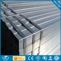 building materials galvanized steel tubes steel rectangular tube