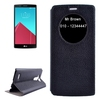 In stock!!! Caller ID Display Window leather case cover for LG G4