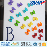 Wholesale DIY handmade ribbon can be used for decorative butterfly