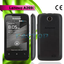 android 2.3 small size mobile phones lenovo a269i dual sim card dual standby with CE certificate