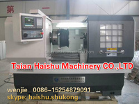 Flat Bed CNC Lathe(alloy wheel cnc lathe)(HS-CK6166)(High quality,CE Certificated, One year guarantee)