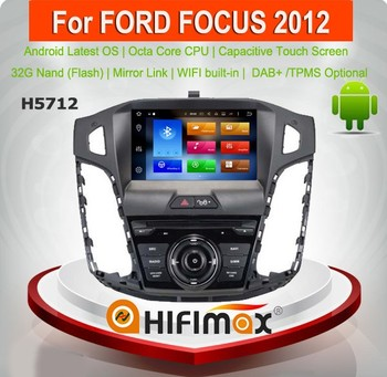 HIFIMAX Android 8.0 Car Radio For Ford Focus 2012 Android Car DVD GPS Player