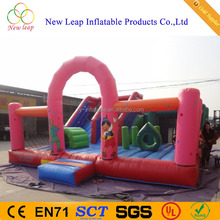 Chinese factory direct sale inflatable simple playground with slide