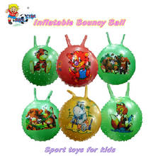 2018 Clear PVC Inflatable bouncy ball,baby jumping ball toy
