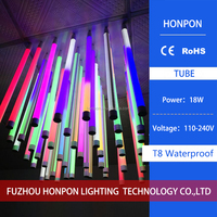 2016 foreign trade selling the latest LED 110-240V T8 18W integrated color IP65 waterproof lamp