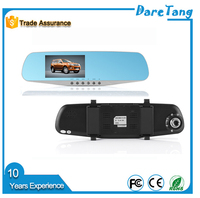 US and Europe Market hot camer 4.3 inch 120 Degree lens car rearview mirror camera dvr
