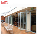 Hot sale lowes glass soundproof folding interior door