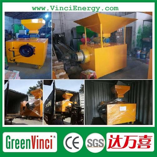 10kw to 200kw for Home farm factory Small Wood Biomass Gasifier CE approved