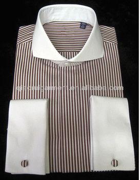 Mens White Long Sleeve Dress Shirt