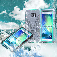 Full protective shockproof waterproof case with Screw and touch screen For Samsung Galaxy Note 5