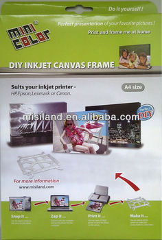 DIY Photo Canvas Kit , DIY photo plastic canvas frame