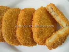 IQF Frozen potato croquette with beef
