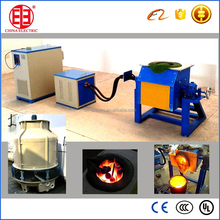 induction melting furnace for copper scrap
