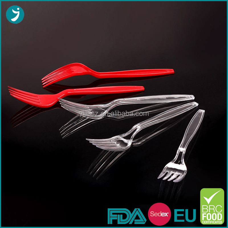 Economic and environmental protection material plastic ps fork with low price